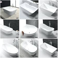 bathroom cool roca stand up bathtub 138 long gone are the