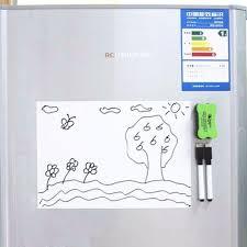 tableau magnetique cuisine magnétique tableau blanc effaçable à sec feuille aimant conseil d