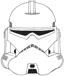 Wars Clone Trooper Coloring Pages Wars Clone Coloring Pages