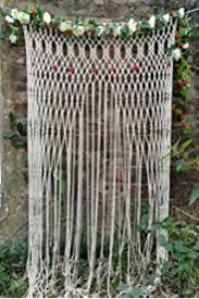 wedding arches and arbors large macrame wedding arbor backdrop yarn hanging by