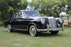 classic mercedes coupe 1958 mercedes benz 220s coupé up for auction in sa carmag co za