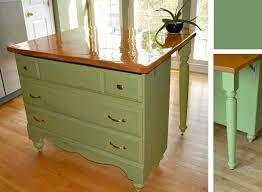 dresser kitchen island update dresser to kitchen island reinventing the home