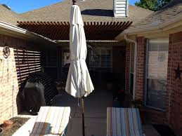 Pergola Off House by Back Patio Pergola Arbor In Allen Texas Hundt Patio Covers And Decks