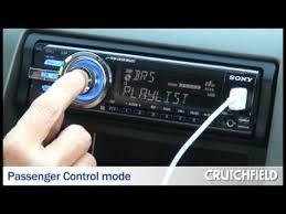 sony cdx gt640ui car cd receiver crutchfield video youtube