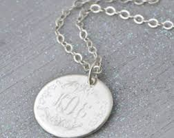 personalized pendants personalized necklace silver oval pendant necklace custom