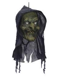 swamp witch head halloween decoration ghost train decoration