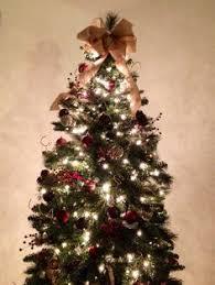 christmas tree bow topper christmas tree bows happy holidays