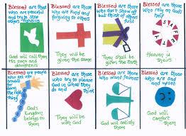 flame creative children u0027s ministry beatitudes cards explaining
