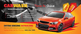 car wash billboard templates by grafilker graphicriver