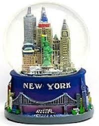 new york blue snow globe 106 new york city souvenirs
