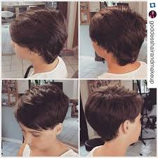 back of head asymettrical hair line cuts 19 incredibly stylish pixie haircut ideas short hairstyles for 2018