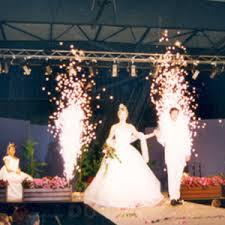 feux d artifice mariage pack jets de scène d intérieur feu d artifice assortiment