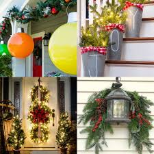 outdoor decoration ideas gorgeous outdoor christmas decorations 32 best ideas tutorials
