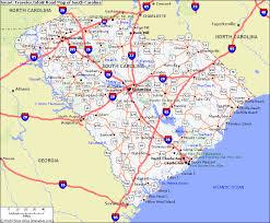 city map of south carolina map