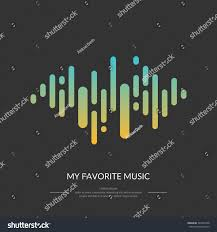 image sound wave vector illustration icon stock vector 342254708