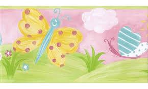 kids cartoon piggy wallpaper border