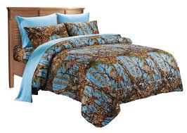 Pink Camo Comforter Woodland Queen Size 7pc Set Woods Camo Comforter Sheet Set