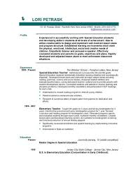 Free Resume Templates For Teachers It Professional Cover Letter For Resume Citing Unpublished