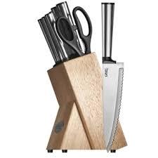 ginsu kotta 8 piece knife block set free shipping today