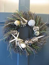 decorating seashell wreath and coastal wreaths ideas