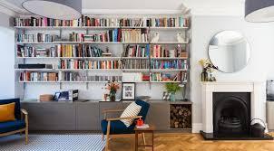 bookshelves in living room 12 clever ideas for living room shelving within inspirations 11
