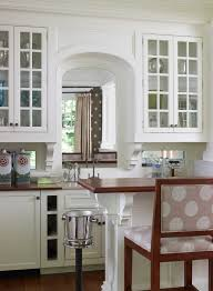 How To Decorate A Traditional Home How To Decorate A Pass Through Window Kitchen Traditional With Wet
