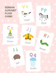 german alphabet flash cards mr printables