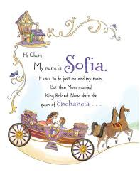 sofia books disney u0027s sofia personalized book