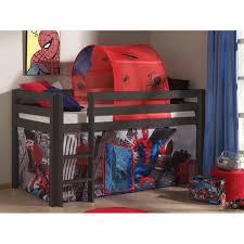 chambre enfant toboggan lit enfant sans toboggan pino taupe