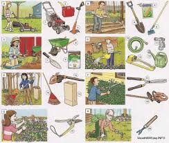 Types Of Garden Rakes - gardening tools and home supplies dictionary for kids