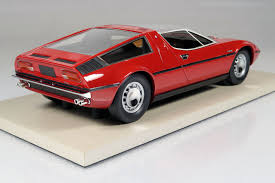 red maserati top marques collectibles maserati bora 1 18 red top25a