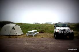 horseneck beach camping the weekender