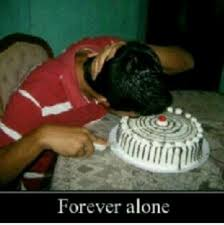 forever alone image gallery know your meme