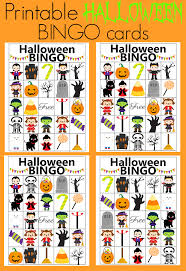 The Bingo Barn Use These Printable Bingo Cards For Your Halloween Party It U0027s The