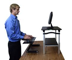 Affordable Sit Stand Desk by Standing Desk Exercise Equipment Best Home Furniture Decoration