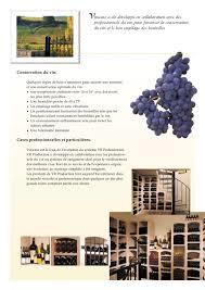Rangement Pour Cave A Vin Vinicase Casiers à Vins Vinis Catalogue Pdf Documentation