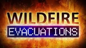 Alaska Wildfire Road Closures by New Evacuations In Sanders Co Near Sheep Gap Fire Nbc Montana