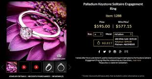 palladium rings reviews palladium vs platinum vs white gold what are the differences