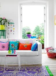 rice color me happy saturated color living rooms and floral