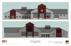 reidville area fire district new fire station dp3 architects
