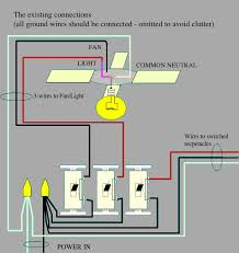 how to wire a ceiling fan to a wall switch how to wire a fan with separate light switch
