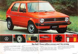 old volkswagen golf ausmotive com volkswagen golf brochure u2013 1980
