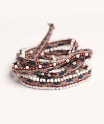 beaded wrap bracelet images Senkapa wrap bracelet threads of peru jpg