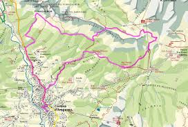 Dolomites Italy Map by The North Face Lavaredo Ultra Trail Cortina Skyrace Path