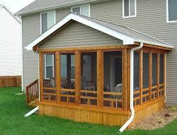 patio ideas varnished stylish ideas screened porch designs