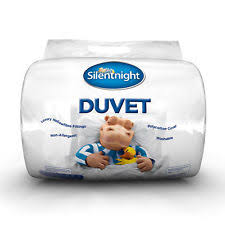 Silentnight 13 5 Tog Double Duvet Silentnight Polyester Duvets 13 5 Tog Rating Ebay