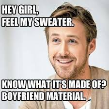 Ryan Meme - hey girl how ryan gosling became the real life feminist man of our