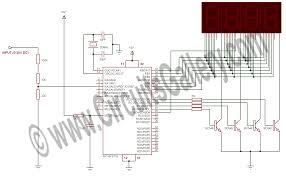 On Off Timer Circuit Diagram Programmable Digital Timer Circuit Diagram Best Engineering Ic5