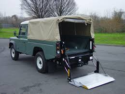 land rover lifted new land rover defender tail lifts for sale at unbeatable prices