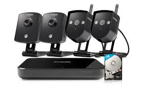 zmodo replay 4 channel 720p 1tb wireless security system